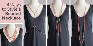 bead necklace style images 4 ways to style a beaded necklace interweave jpg