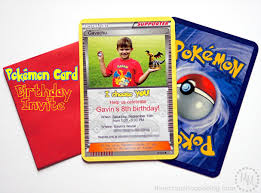 beautiful pokemon card invitations 69 with additional vastu