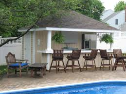 charming pool house plans with outdoor kitchen ideas best idea