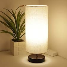 minimalist table lamp bedside desk with bulb included round