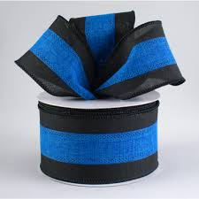 blue support ribbon 2 5 support ribbon black blue 10 yards rg01531w8