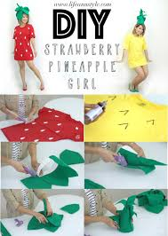 diy strawberry pineapple halloween costume u2013 ann le style