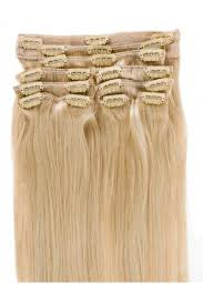 hair extensions clip in extension in 60 white hair