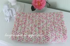 Tiny Flower Crochet Pattern - lacy crochet tiny tulips baby blanket free crochet pattern