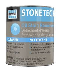 stonetech oil stain remover cleaner for natural stone grout