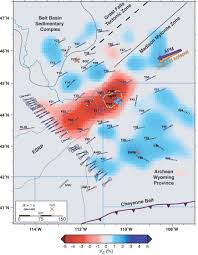 Yellowstone Eruption Map U Of U Seismology And Active Tectonics Research Group