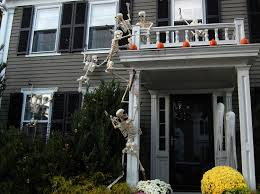 How To Decorate A House For Halloween by Where To Find The Creepiest Halloween Decorations Around Boston