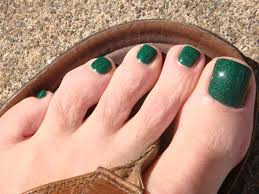 buy cool christmas green loaded with glitter nail polish for girls