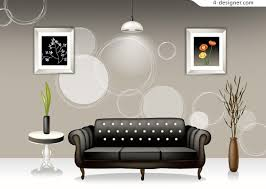 home interior materials 4 designer stylish interior home design vector material