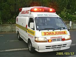 lexus v8 van taranaki private ambulance medic one