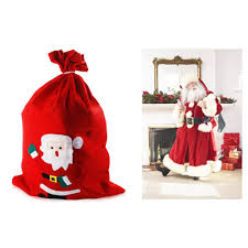 Christmas Decorations Large Santa Claus by Lx Christmas Table Decor Large Santa Claus Candy Gift Stocking
