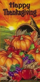 domagron happy thanksgiving door cover