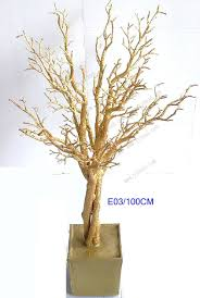 wedding trees golden wedding tree centerpieces e31 wholesale golden