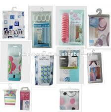 Peva Shower Curtain Liner Sale Fashion Peva Shower Curtains In Hanger Polybag Bag