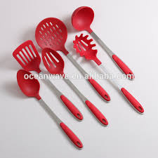 Kitchen Cooking Utensils Names by Different Styles Nylon Kitchen Tools Set Cooking Utensils Names