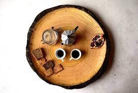 wedding serving dishes wooden plate fruit platter modern design coffee table wood