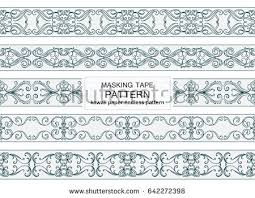washi tape designs printable washi tape stock images royalty free images vectors