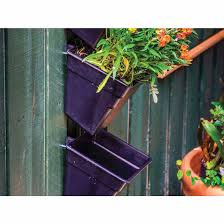 Wall Gardening System by Wallgarden Multi Hang Vertical Wall Garden Hanging Flowers Plants