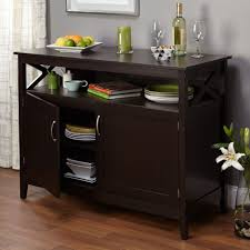 kitchen wooden sideboards black buffet table dining room server