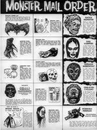 pictures of halloween monsters halloween mask m ad ness branded in the 80s
