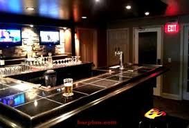 classic basement bar easy home bar plans