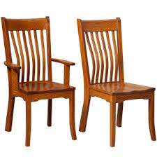 Mission Dining Room Chairs by Amish Mission Dining Room Kitchen Table Set Dining Room Chairs