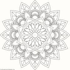 flower mandala coloring pages 499 u2013 getcoloringpages org