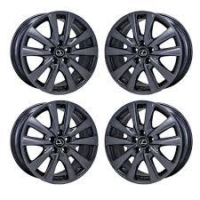 lexus chrome wheels 18