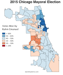 Chicago Gangs Map by We Had An Election Here Are Some Maps U2013 City Notes