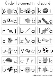 free kindergarten worksheets letter sounds free kindergarten