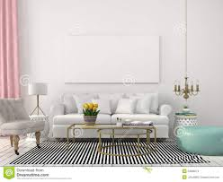 Light Living Room Light Living Room In White And Pastel Colors Stock Photo Image
