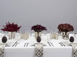 modern thanksgiving table decorations ideas cooking channel