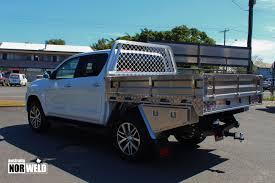 hilux toyota hilux aluminium ute tray heavy duty construction