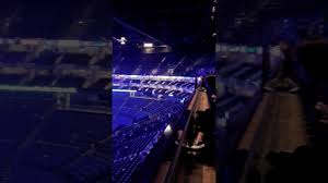 the o2 arena london view from block 402 row a youtube