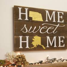blessed pallet sign distressed wood sign from rusticlyinspired on