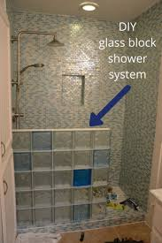 the 25 best glass block shower ideas on pinterest bathroom