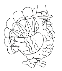 thanksgiving turkey coloring pages 8717
