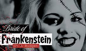 Halloween Black And White Makeup by Budget Diy Bride Of Frankenstein Halloween Makeup Tutorial Youtube