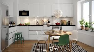 Kitchen Cabinet Components Kitchen Yellow Fridge Polished Wood Floors Nice White Countru L