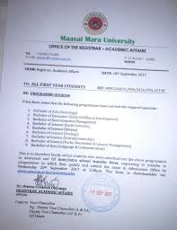 Sample Resume Format For Zoology Freshers by Maasai Mara University Home