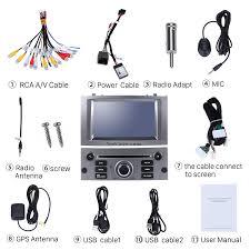 2004 2005 2006 2007 2008 2009 2010 peugeot 407 radio oem android