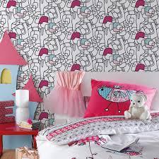 papier peint chambre gar n papier peint pour chambre fille maison design bahbe com