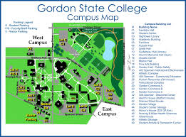Map Policy Parking Policy Gordon State College
