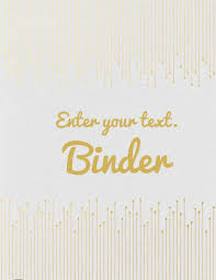 create your own planner template free binder cover templates gold lines
