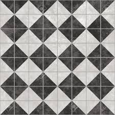 Design Tiles by Black And White Tiles That Tile Seamless In All Directions Stock