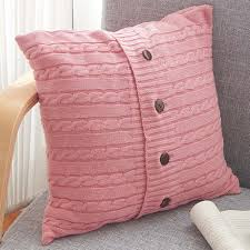 Patterns For Knitted Cushion Covers Knitted Cushion Cover Promotion Shop For Promotional Knitted