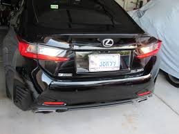 lexus is tail lights diy how to replace taillight bulbs clublexus lexus forum