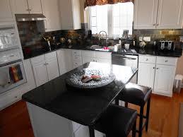 white kitchen cabinets with granite cozy home design