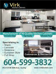 virk kitchen cabinets seo u0026 web design services surrey bc