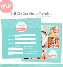 free gift certificate template u2013 photoshop templates for
